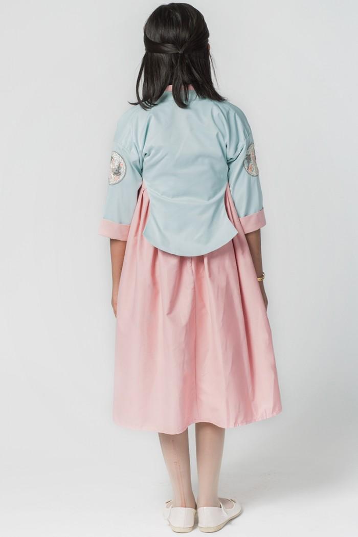 فستان صيفي جديد 2021 ديزاين ياباني
