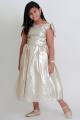 فستان بناتي سهره صيفي لون ذهبي
